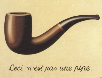 René Magritte, The Treachery of Images, 1928-29
