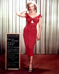 Marilyn Monroe: Studio publicity portrait for film Niagara