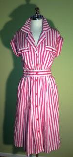 stripedhousedress