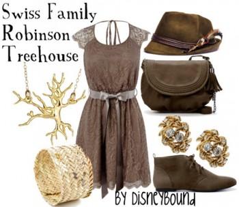 Swiss Family Robinson tree house polyvore on disneybound